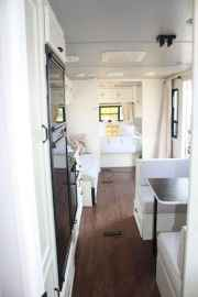 90 modern rv remodel travel trailers ideas (5)