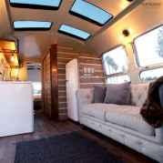90 modern rv remodel travel trailers ideas (69)