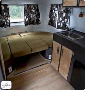 90 modern rv remodel travel trailers ideas (7)