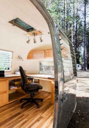 90 modern rv remodel travel trailers ideas (8)