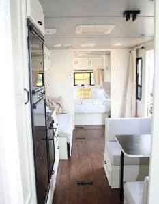 90 modern rv remodel travel trailers ideas (81)