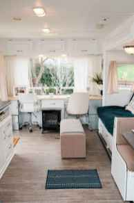90 modern rv remodel travel trailers ideas (87)