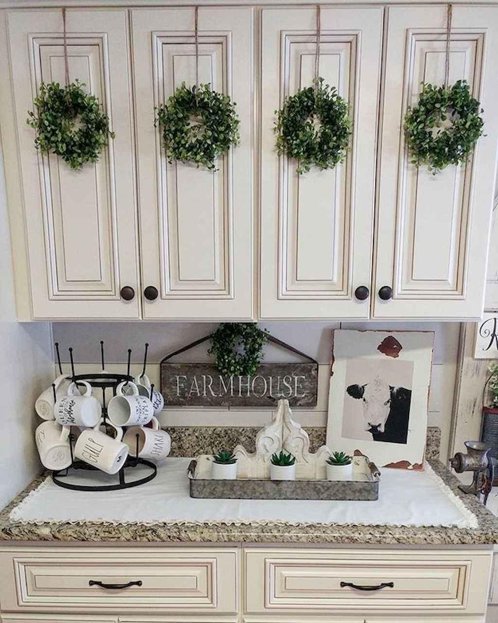 Kitchen Cabinet Design Ideas 2018: Best 100 White Kitchen Cabinets Decor Ideas For Farmhouse