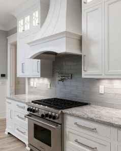 Best 100 white kitchen cabinets decor ideas for farmhouse style design (69)