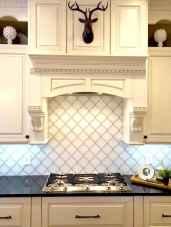 Best 100 white kitchen cabinets decor ideas for farmhouse style design (76)