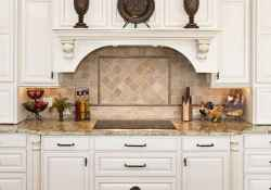 Best 100 white kitchen cabinets decor ideas for farmhouse style design (98)