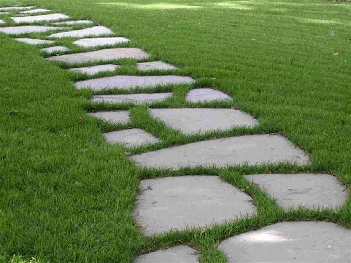 Top 100 stepping stones pathway remodel ideas (56)