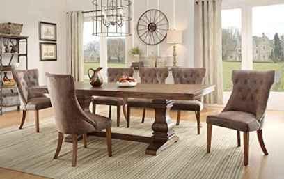 100 best farmhouse dining room decor ideas (111)