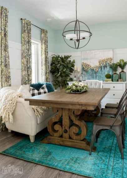 100 best farmhouse dining room decor ideas (137)