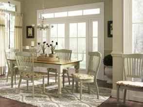 100 best farmhouse dining room decor ideas (144)