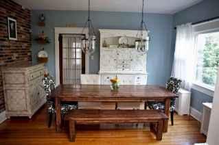 100 best farmhouse dining room decor ideas (176)