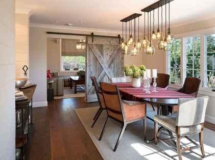 100 best farmhouse dining room decor ideas (178)