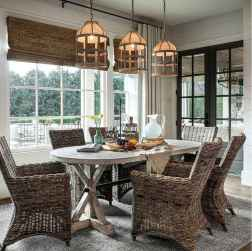 100 best farmhouse dining room decor ideas (188)