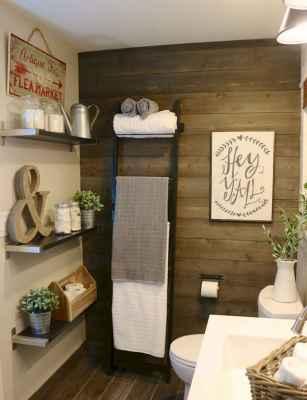 110 best farmhouse bathroom decor ideas (94)