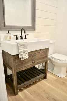 110 best farmhouse bathroom decor ideas (22)