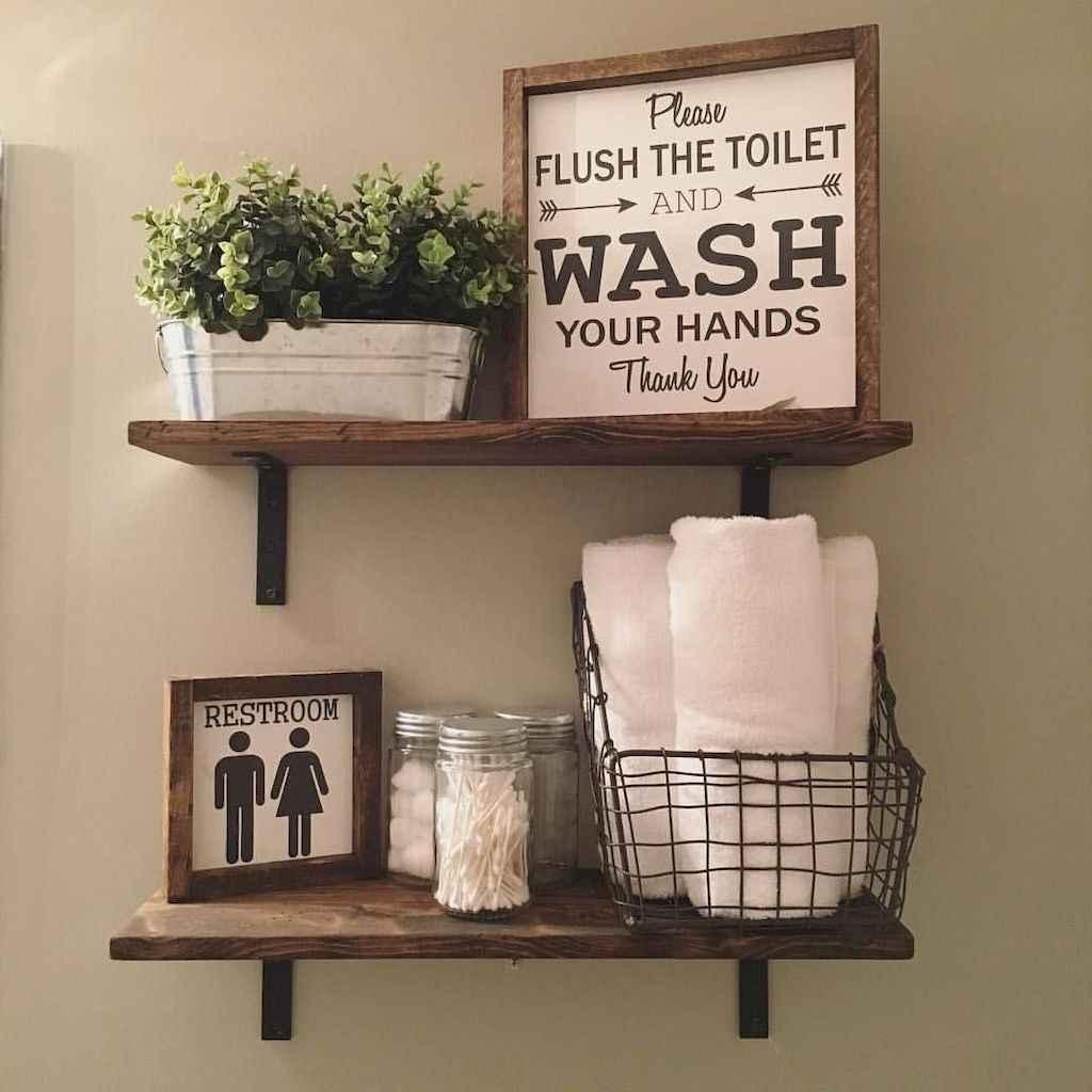 110 best farmhouse bathroom decor ideas (3)