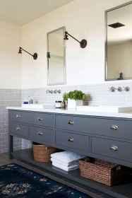 110 best farmhouse bathroom decor ideas (37)