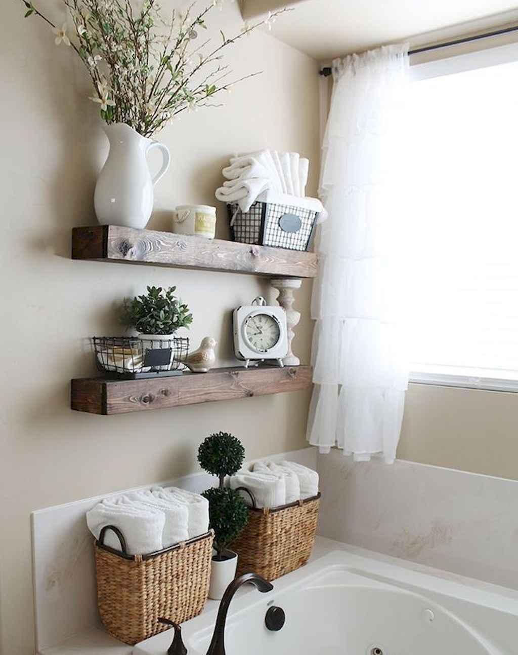 110 best farmhouse bathroom decor ideas (38)