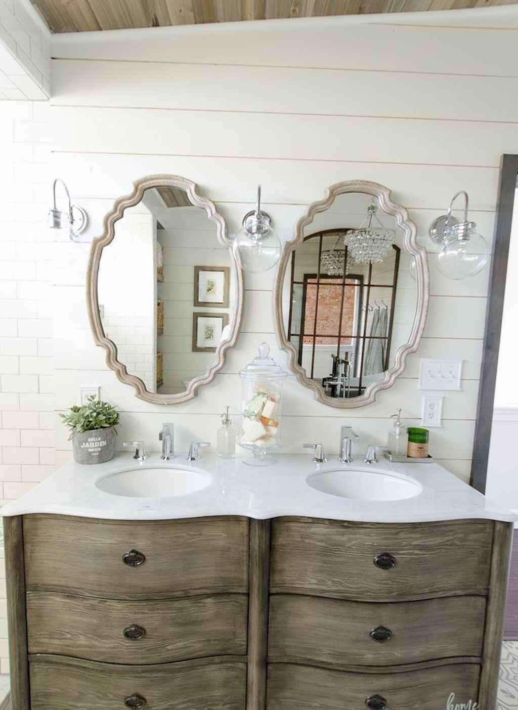 110 best farmhouse bathroom decor ideas (42)