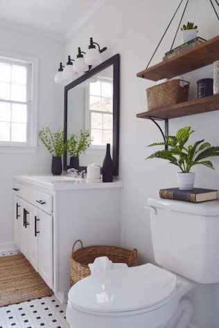 110 best farmhouse bathroom decor ideas (44)