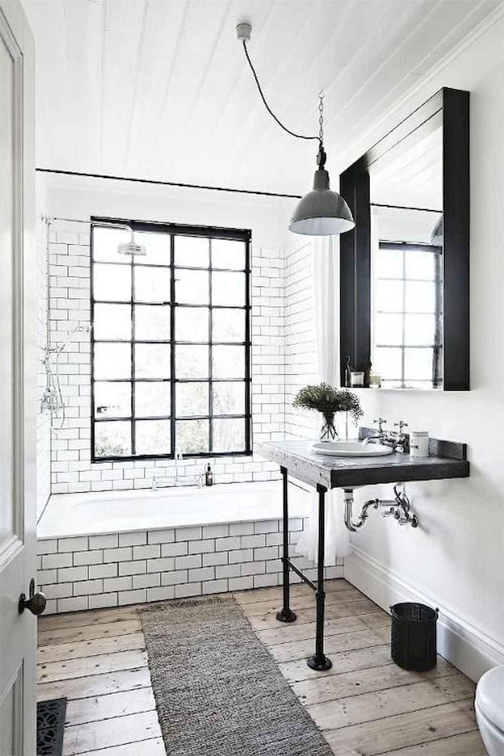 110 best farmhouse bathroom decor ideas (62)