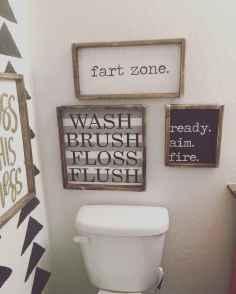110 best farmhouse bathroom decor ideas (65)