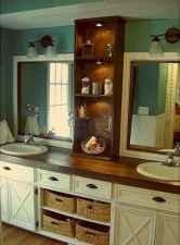 125 awesome farmhouse bathroom vanity remodel ideas (100)
