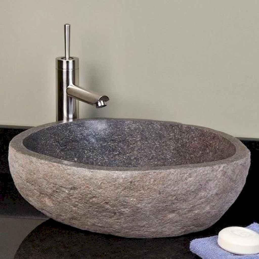 125 awesome farmhouse bathroom vanity remodel ideas (38)