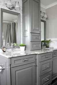 125 awesome farmhouse bathroom vanity remodel ideas (53)