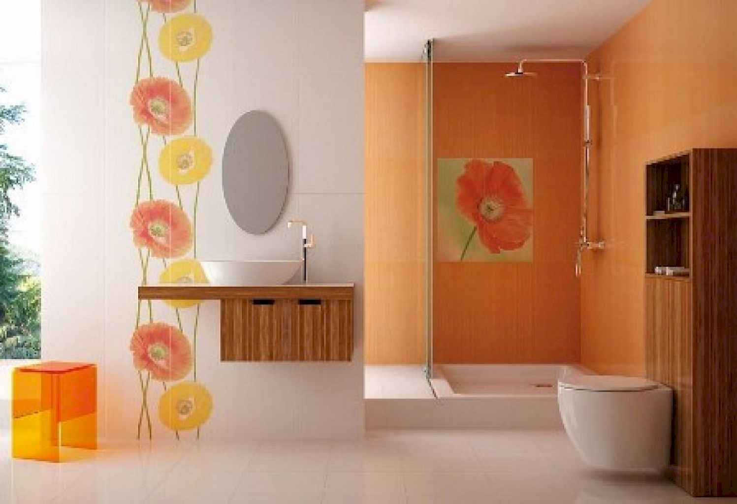 55 cool and relax bathroom design ideas (1)
