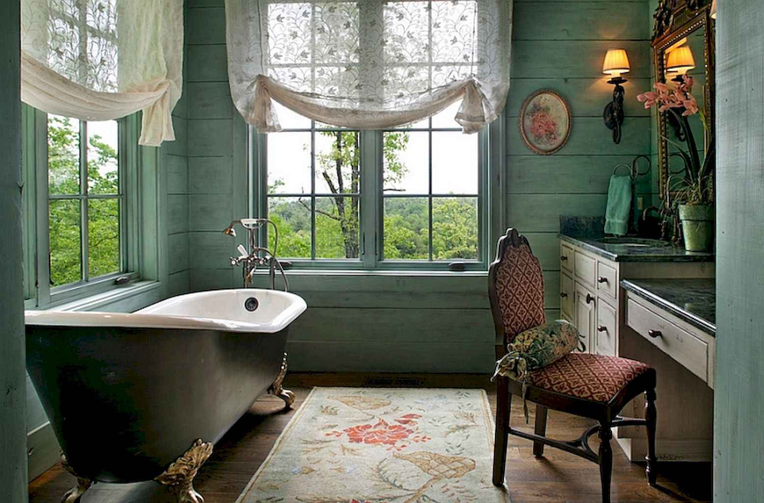 55 cool and relax bathroom design ideas (30)