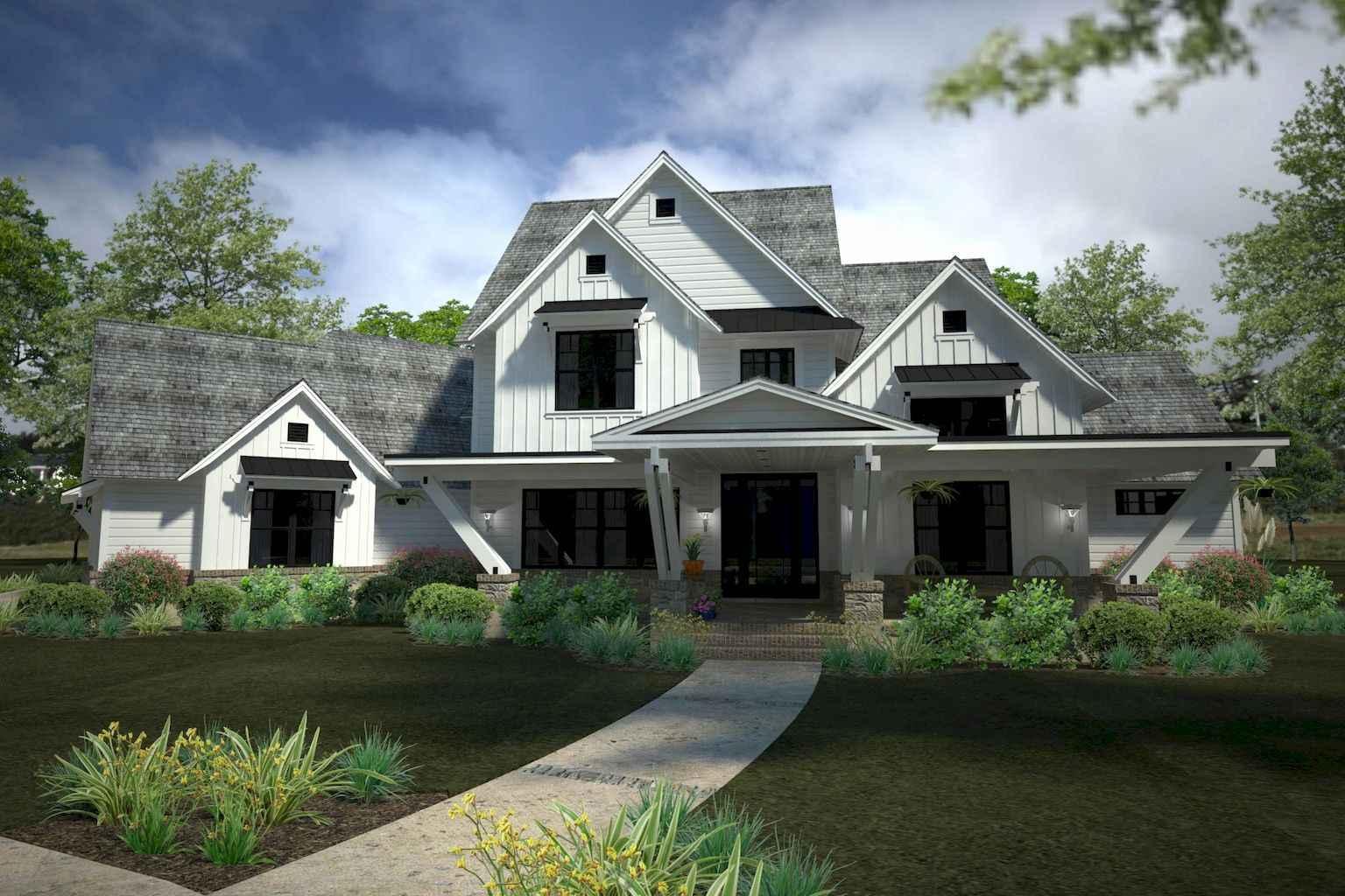 60 amazing farmhouse plans cracker style design ideas (13)