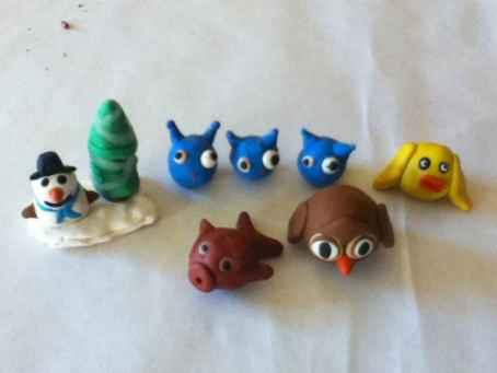70 inspiring diy polymer clay figure ideas (1)