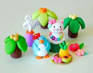 70 inspiring diy polymer clay figure ideas (24)