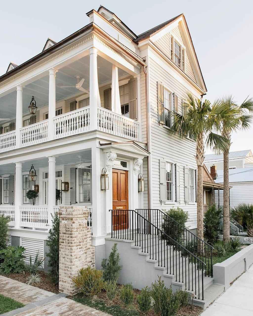 80 Awesome Plantation Homes Farmhouse Design Ideas (5