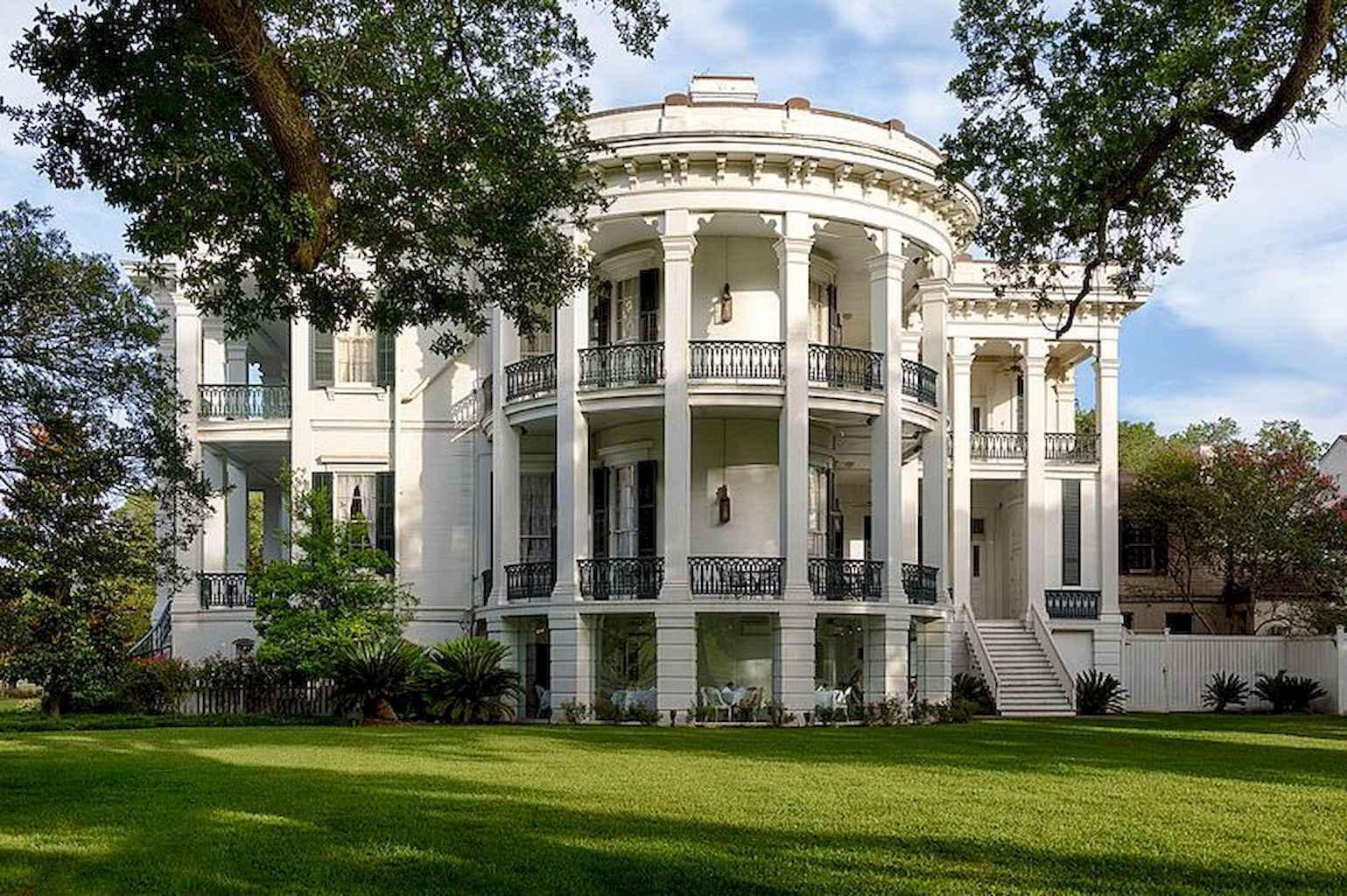 80 awesome plantation homes farmhouse design ideas (52)