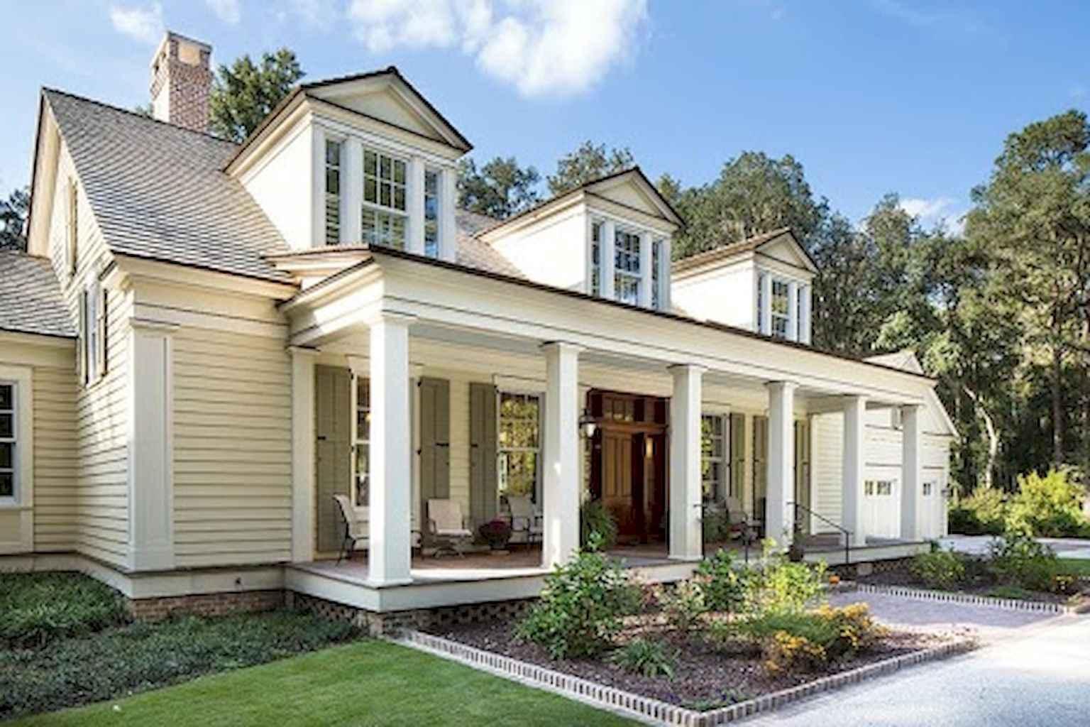 80 awesome plantation homes farmhouse design ideas (70)