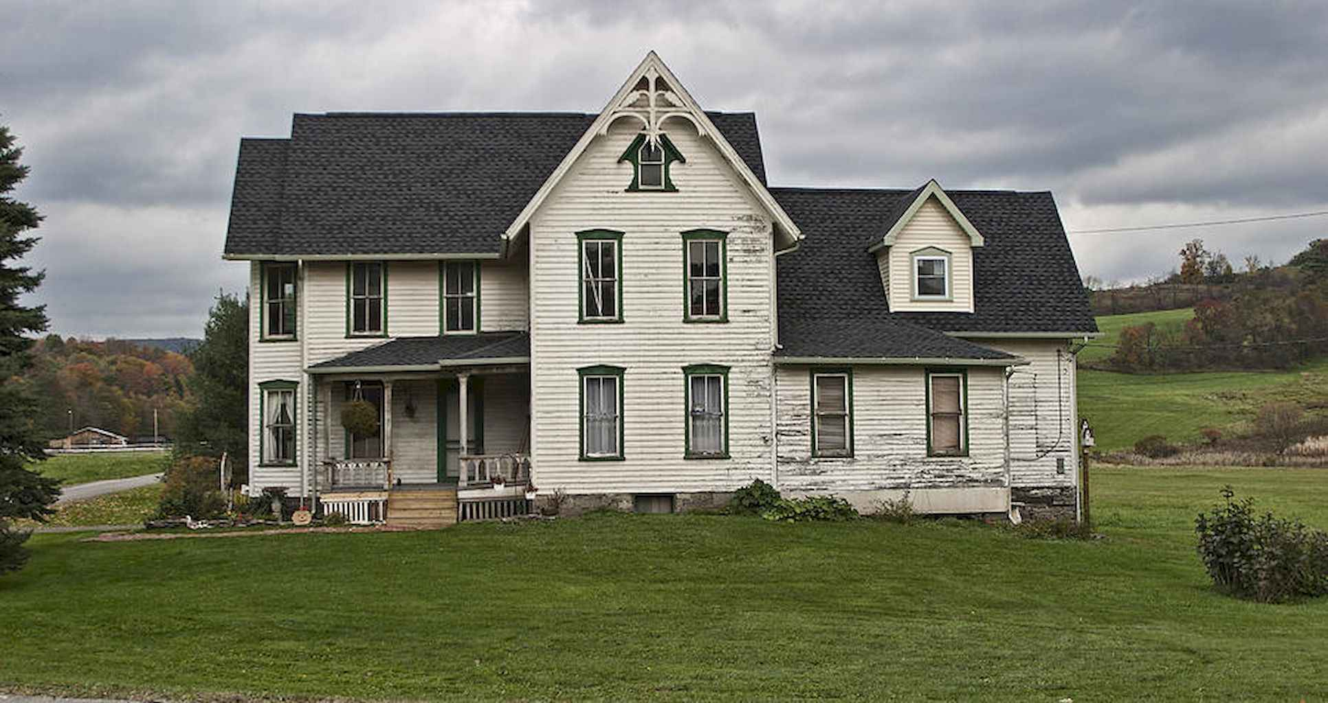 80 awesome victorian farmhouse plans design ideas (2)