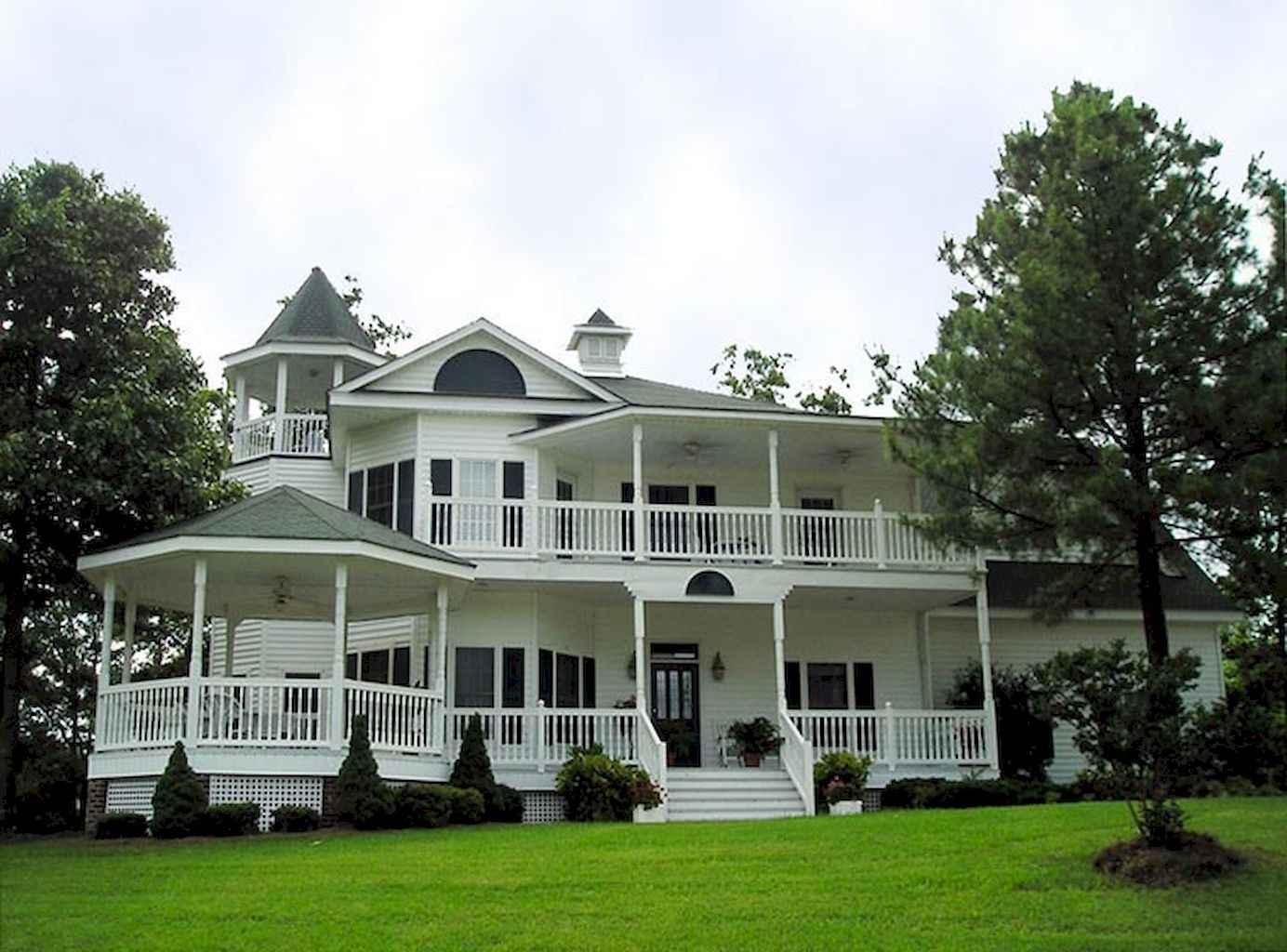 80 awesome victorian farmhouse plans design ideas (25)