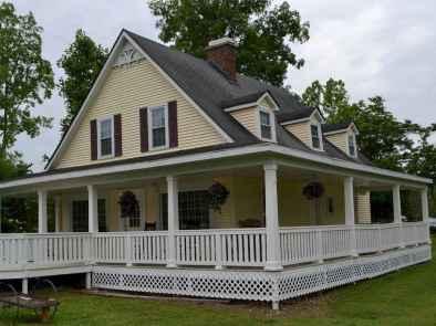 80 awesome victorian farmhouse plans design ideas (26)
