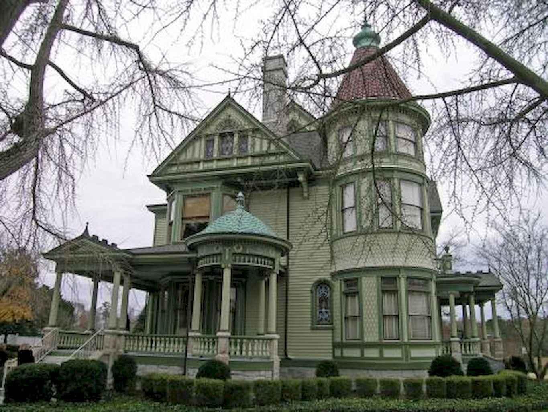 80 awesome victorian farmhouse plans design ideas (43)