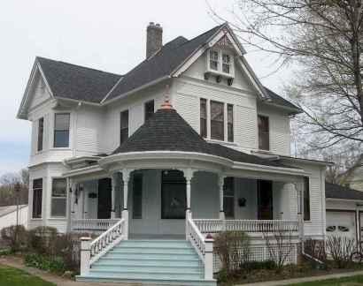 80 awesome victorian farmhouse plans design ideas (55)