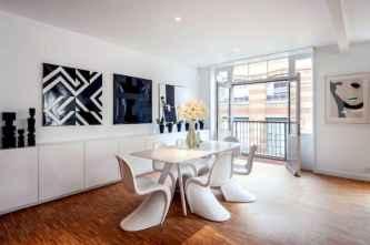 80 brilliant apartment dining room decor ideas (6)