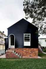 35 handsome black house exterior decor ideas (1)
