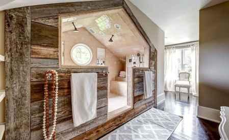Top 25 farmhouse master bathroom decor ideas (12)