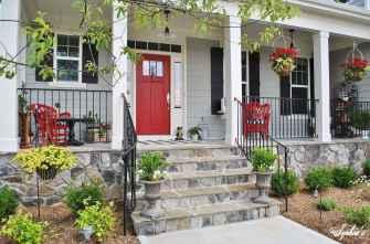 Top 25 farmhouse porch design ideas (19)