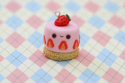 25 easy to try diy polymer clay cake design ideas (19)