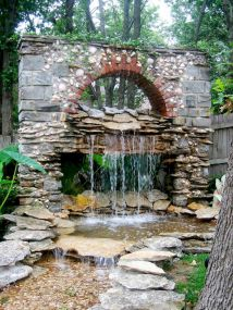 30 beautiful backyard ideas water fountains design and makeover (1)