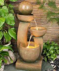 30 beautiful backyard ideas water fountains design and makeover (11)