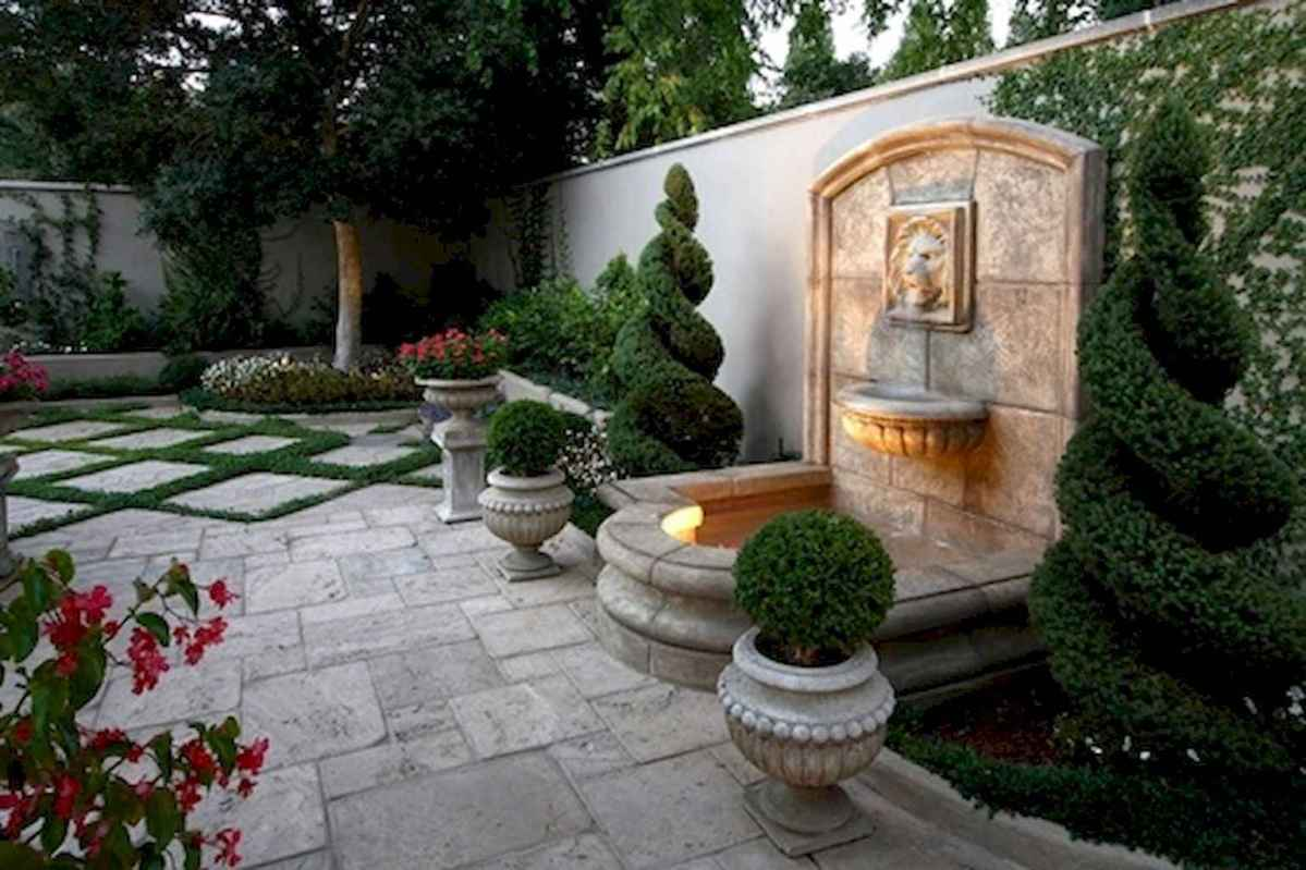 30 beautiful backyard ideas water fountains design and makeover (16)